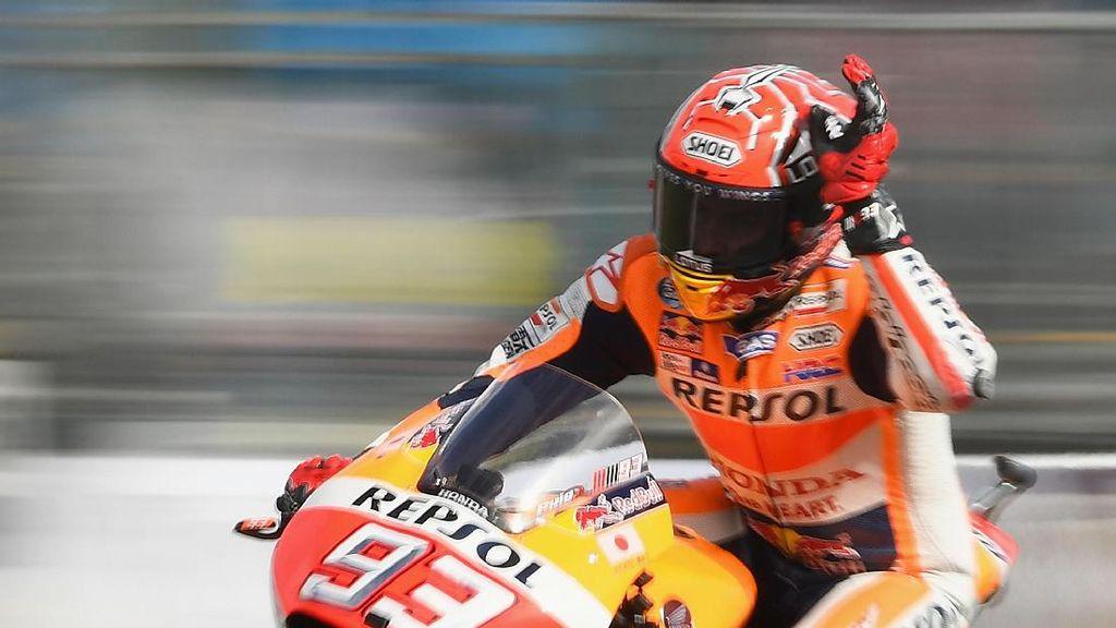 Aspal Baru Sepang Bikin Marquez Penasaran