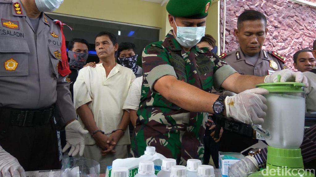 Polresta Banda Aceh Blender 5 Kg Sabu Jaringan Internasional Seharga Rp 5 Miliar