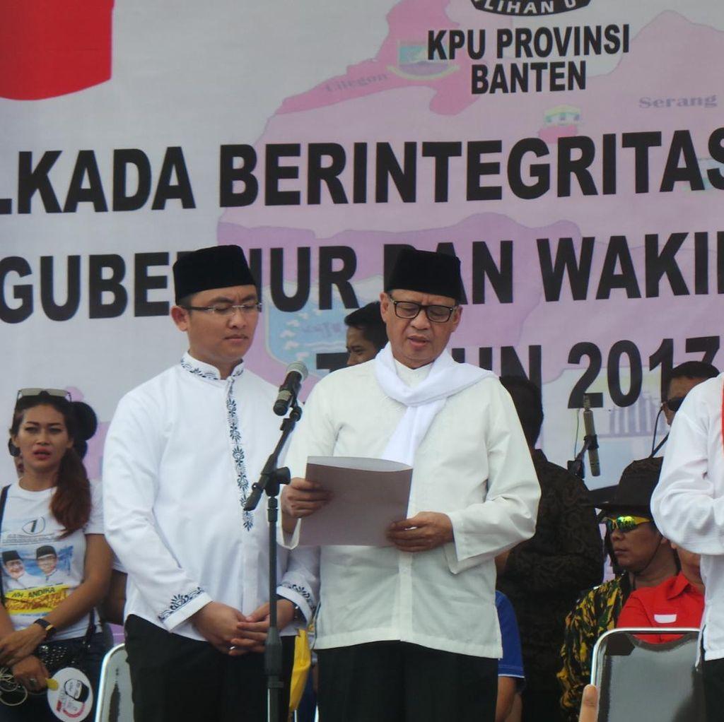 Wahidin Halim: Saya dan Andika Membawa Solusi untuk Banten