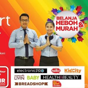 Transmart Carrefour Buka Gerai Baru di Pondok Gede, Bekasi