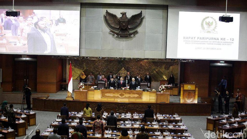 Ini Susunan Anggota Pansus RUU Penyelenggaraan Pemilu di DPR