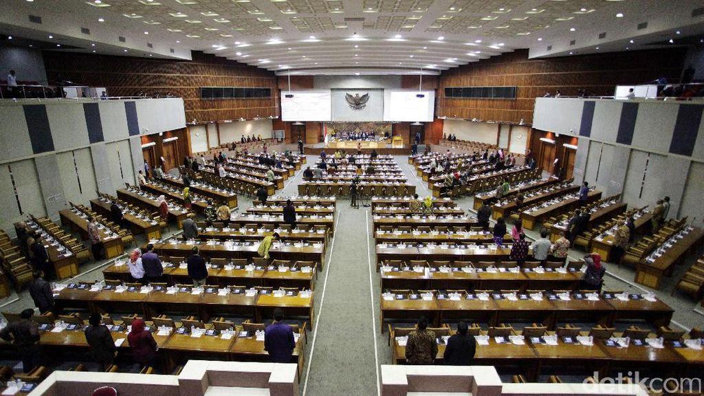 Paripurna Penutupan Masa Sidang Tak Dihadiri 229 Anggota DPR