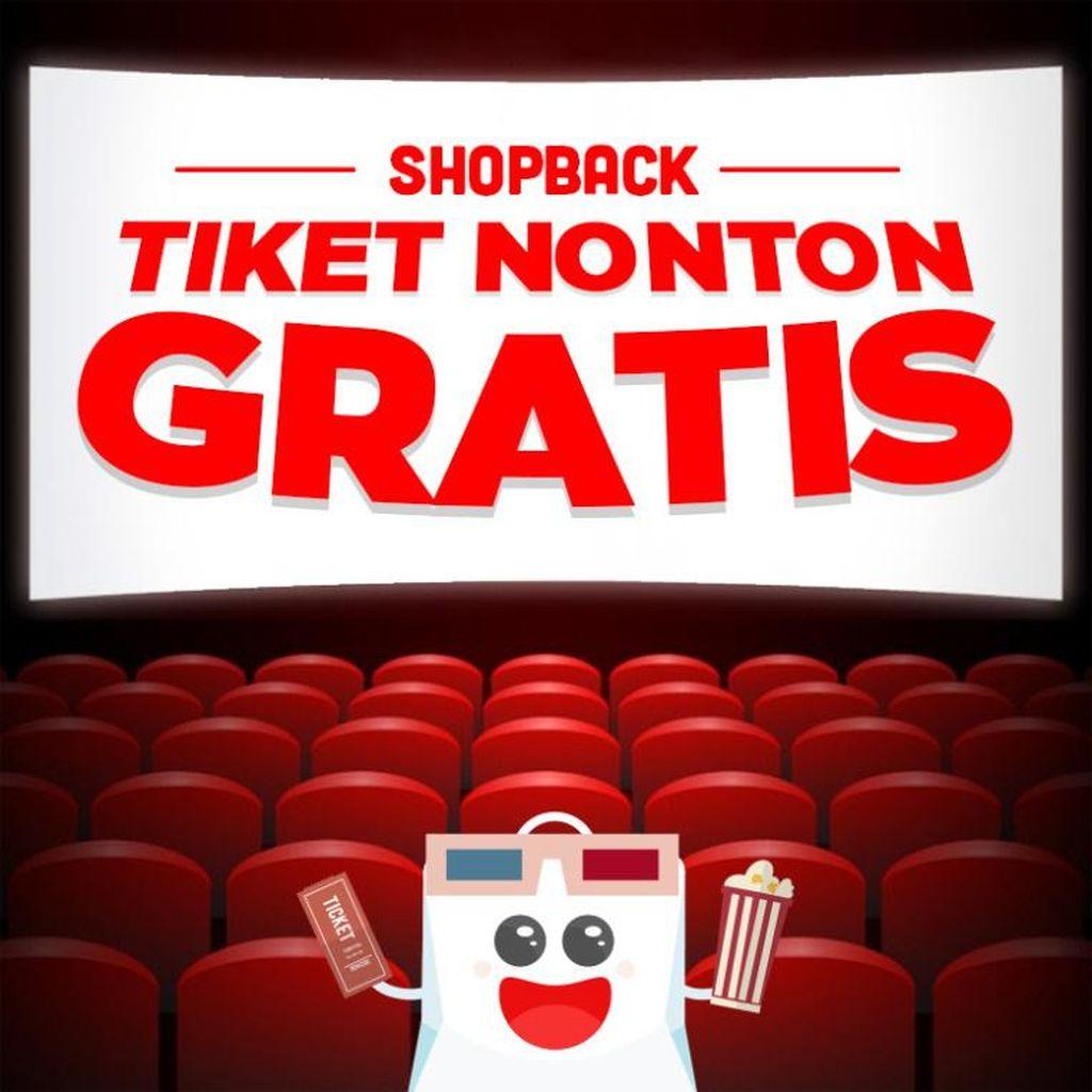 1.000 Tiket Nonton Gratis di Bioskop se-Indonesia, Berlaku untuk Pembelian Online Hari Ini