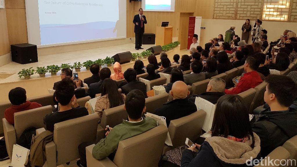 Hebohnya Launching Buku Chairul Tanjung Si Anak Singkong Versi China