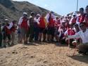 Peringati Sumpah Pemuda, Rini dan Bos-bos BUMN Upacara di Pulau Padar