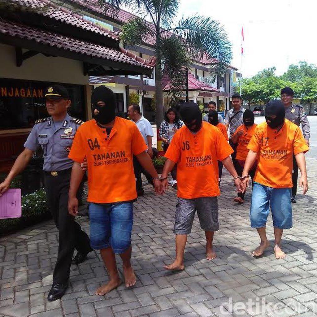 Lima Komplotan Maling Antar Provinsi Berhasil Ditangkap