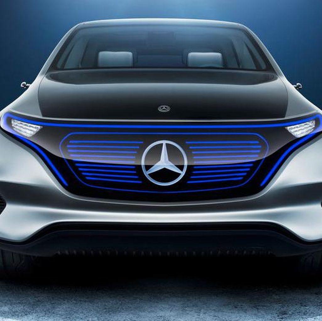 Mobil Listrik Mercedes-Benz EQ