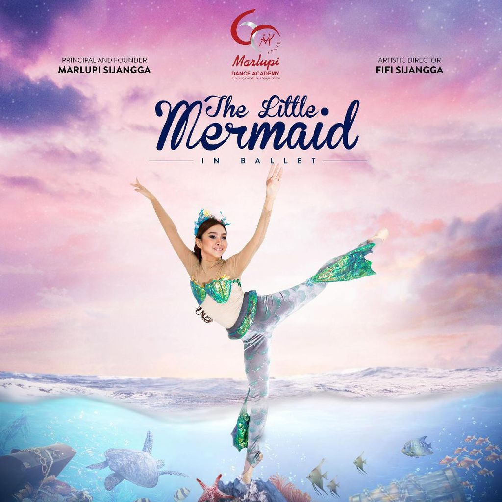 Marlupi Dance Academy Pentaskan The Little Mermaid Esok