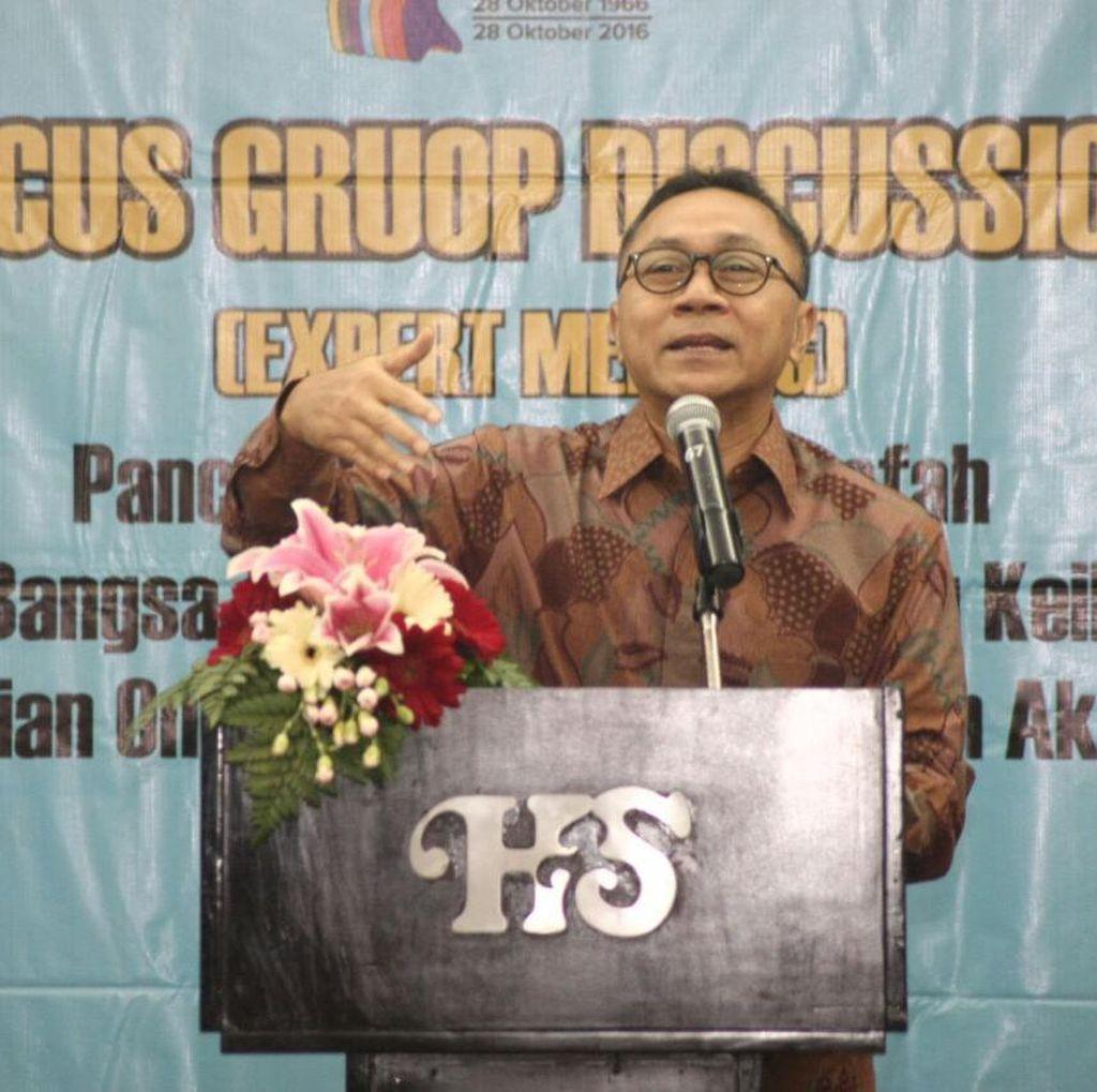 Ketua MPR: Penting untuk Hidupkan Kembali Pancasila dengan Metode Terkini
