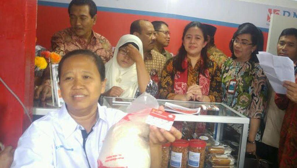 Puan Luncurkan 15 e-Warong di Semarang