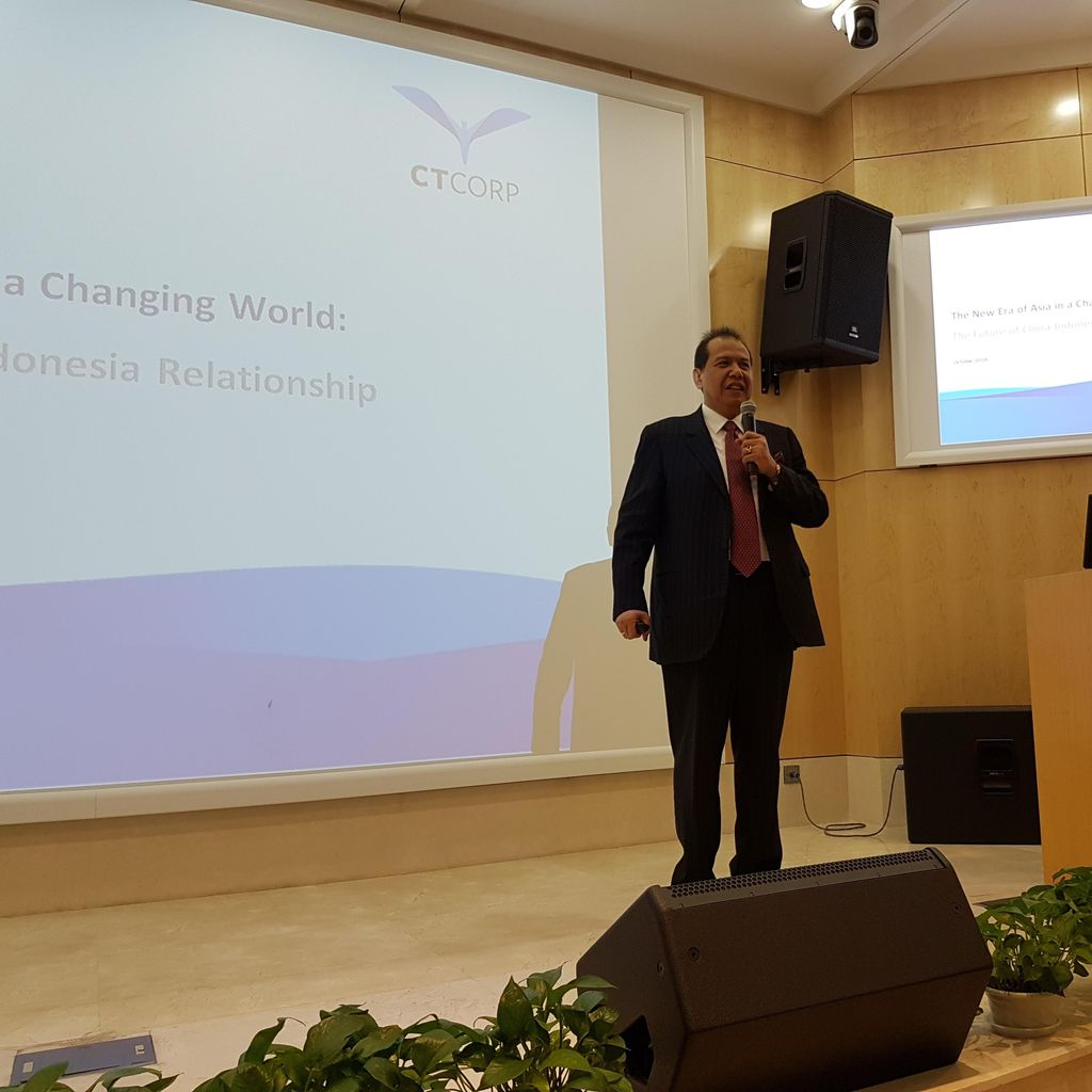Kunjungi Peking University, CT Bicara Masa Depan Kerjasama China-Indonesia