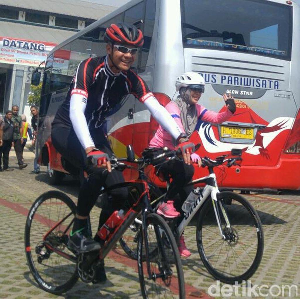 Gubernur Ganjar Bakal Gowes 275 Km di Tour de Borobudur