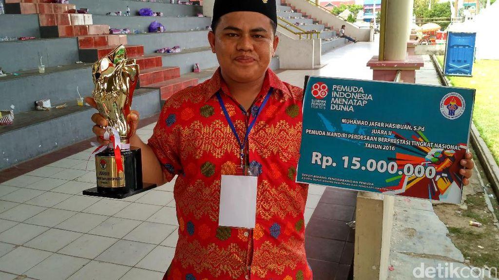 Berdayakan Nelayan di Asahan untuk Bisnis Terasi, Pemuda Ini Raih Penghargaan