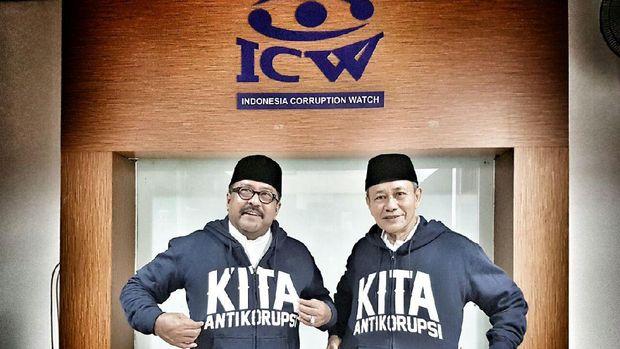 Datangi ICW, Rano-Embay Komitmen Perangi Korupsi di Banten