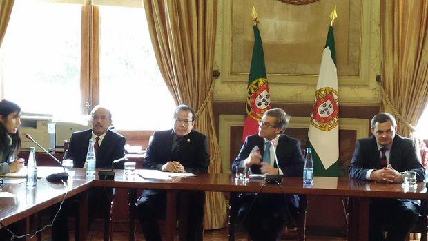 Pertemuan DPR RI dan parlemen Portugal