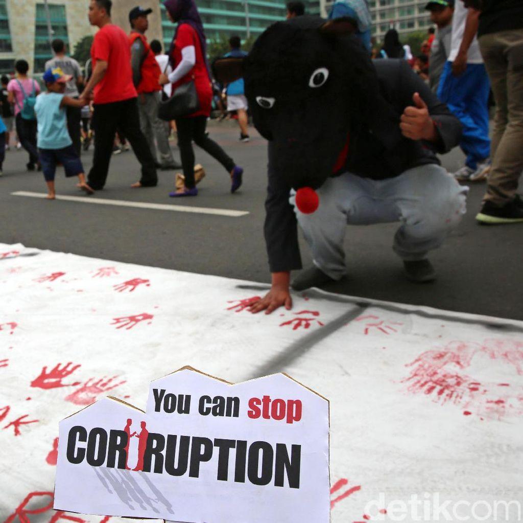Peringatan Hari Anti Korupsi dan Maulid Nabi SAW