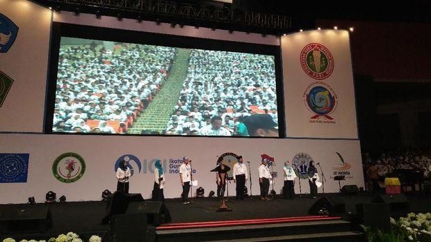 Presiden Jokowi akan Hadiri Peringatan Hari Guru Bersama PGRI di Sentul
