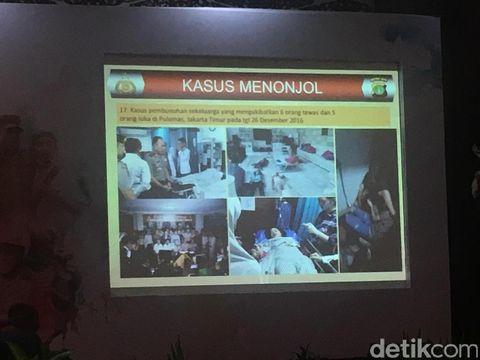 Jumpa pers akhir tahun 2016 di Balai Pertemuan Metro Jaya, Kamis (29/12/2016)