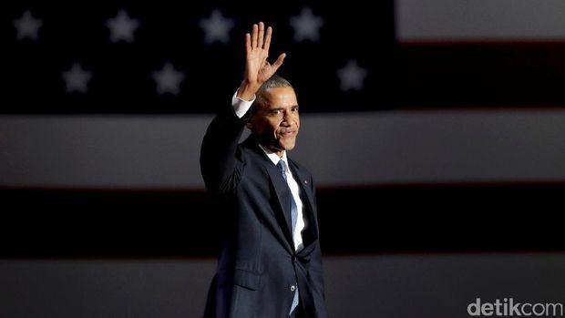 Saat Pidato Perpisahan, Obama Pastikan ISIS Akan Dihancurkan