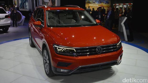 VW Tiguan Ganti Baju, Tambah Melar dan Ada Kursi Baris Ketiga