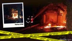 Markas GMBI Bogor Dibakar