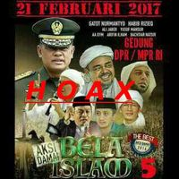 Foto Panglima TNI di Poster Aksi 212, FUI: Itu Hoax