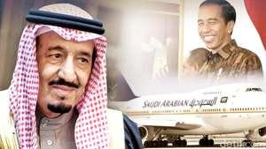 Karpet Merah Untuk Raja Saudi