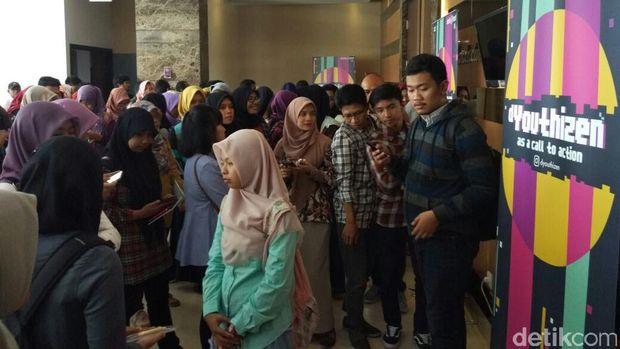 Anak Muda Jogja Serbu d'Youthizen, Ada yang Ketagihan Jadi Peserta