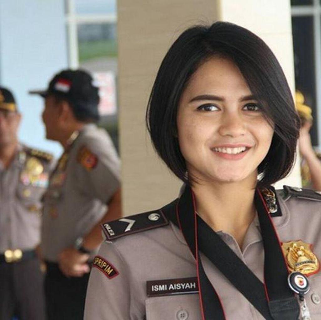 Ismi Aisyah, Polwan Cantik Hebohkan Bom Panci Bandung