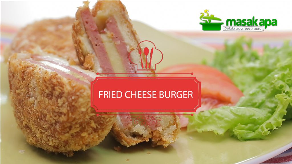 Fried Cheese Burger