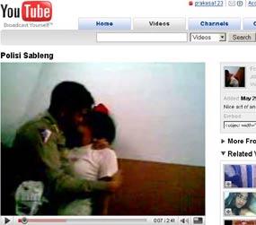 Polisi Mesum Heboh di YouTube