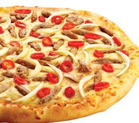 Ketagihan DOMINOs Beef Pepperoni Pizza