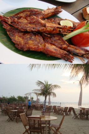 Kuwe Bakar dan Sup Yuyu Asli Jimbaran Bali