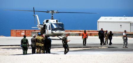 Wasekjen PBB Resmikan UNIFIL HQ New Extension Camp