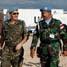 Kunjungan singkat Komandan Sektor Timur Unifil diakhiri dengan pemeriksaan terhadap base camp Satgas POM TNI. (Lettu Sus M. Soleh, S.IK).