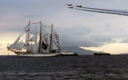 Parade Kapal Sail Bunaken 2009