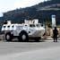 Meski sedang menjalankan ibadah puasa, Satgas Yonif Mekanis TNI Konga XXIII-C/UNIFIL atau Indobatt tetap menjalankan tugasnya dengan baik di perbatasan Libanon-Israel. (Letkol Arh Hari Mulyanto).