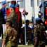 Force Commander UNIFIL dan Perwakilan dari Lebanese Army Forces (LAF) meletakkan karangan bunga di monumen atau cenotaph peringatan personel UNIFIL yang telah gugur dalam misi. (Kapten Laut (KH) Hondor Saragih).