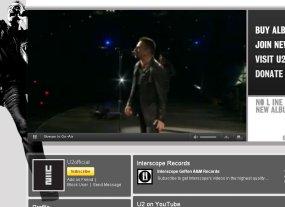Saksikan, Konser Live U2 di YouTube!