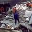 Sebuah ruko pengecer gas elpiji di Jl Swadaya, Duren Sawit, Jakarta Timur, tersebut hancur berantakan.