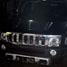 Hummer H3 warna hitam terparkir rapi di garasi rumah Dhani di Jl Pinang Mas III, Pondok Indah, Jakarta Selatan.