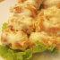 Buat penggemar cakwe bisa mencoba cakwe dengan balutan mayones yang satu ini. Tidak hanya sekedar cakwe goreng karena dalamnya ada kejutan isi berupa cincangan udang.