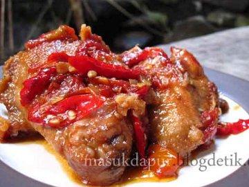 Resep Ayam: Ayam Sambal