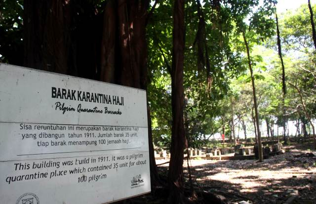 Melihat Peninggalan di Pulau Onrust