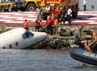Tidak ada korban tewas dalam insiden ini, ketiga penumpang hanya mengaami luka ringan. Reuters/Sergio Moraes.