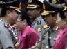 Sertijab 9 Kapolda ini dipimpin langsung oleh Kapolri Bambang Hendarso Danuri.