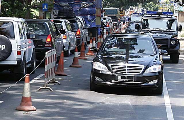 Mobil dinas SBY