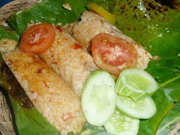 Gurihnya Nasi Bakar Sumsum Khas Banten