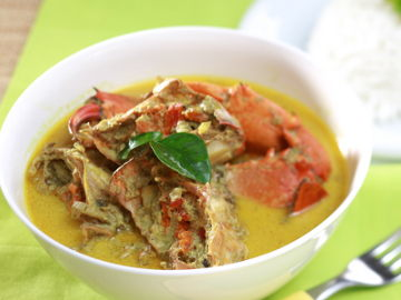 Resep Kepiting: Kare Kepiting