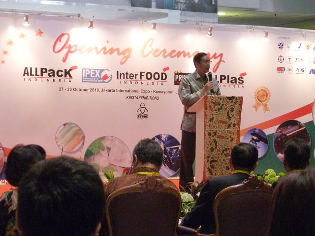 Kemeriahan Interfood Indonesia 2010